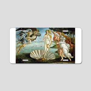 Birth of Venus Aluminum License Plate