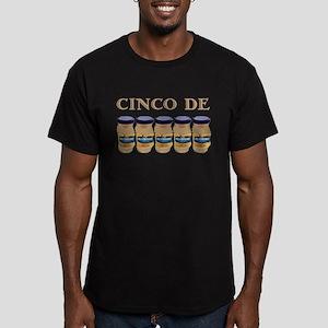 Cinco De Mayo on dark Men's Fitted T-Shirt (dark)
