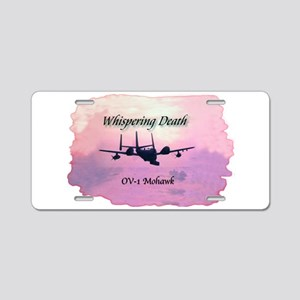 OV-1 Mohawk Aluminum License Plate