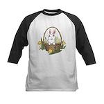 Easter Bunny Kids Baseball Jersey
