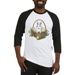 Pocket Easter Bunny Baseball Tee