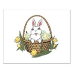 Easter Bunny Cute Pocket Rabbit Small Poster