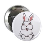 "Easter Bunny Cute Pocket Rabbit 2.25"" Button"