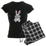 Pocket Easter Bunny Women's Dark Pajamas