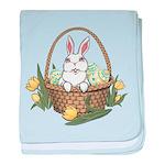 Pocket Easter Bunny baby blanket