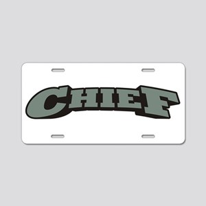 Chief Aluminum License Plate