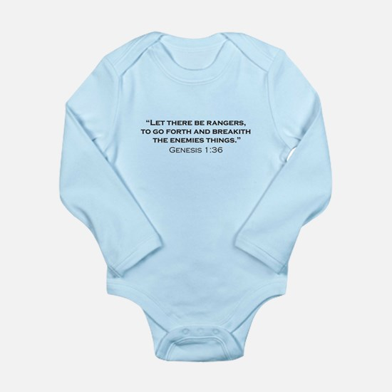 Ranger / Genesis Long Sleeve Infant Bodysuit