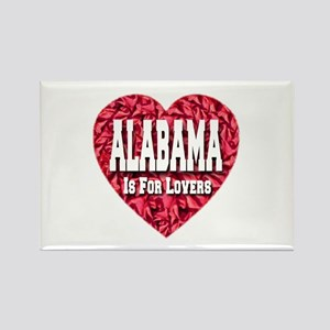 Alabama Is For Lovers Rectangle Magnet