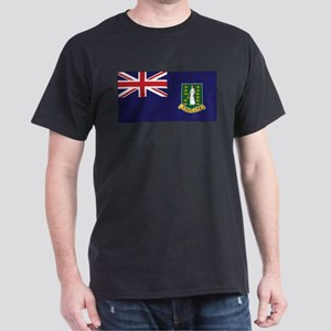 BVI Flag Dark T-Shirt
