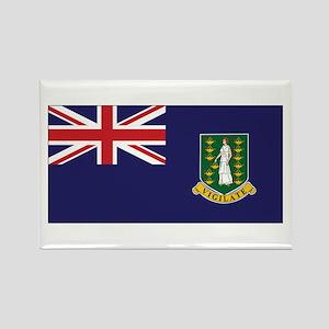 BVI Flag Rectangle Magnet