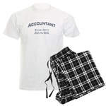 Accountant - Work Men's Light Pajamas