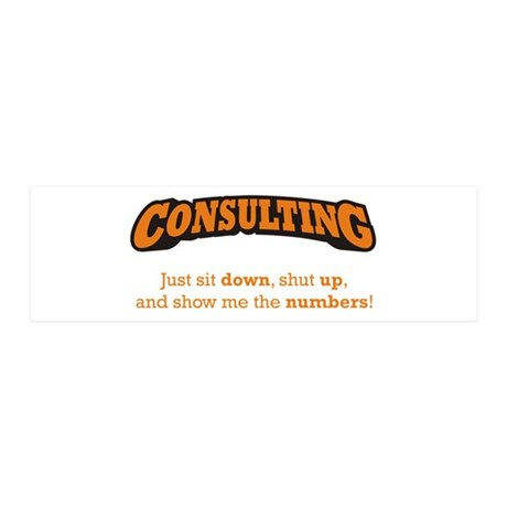 Consulting-Numbers 42x14 Wall Peel