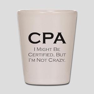 CPA #3 Shot Glass