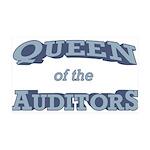 Queen Auditor 38.5 x 24.5 Wall Peel