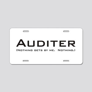 Auditer Aluminum License Plate