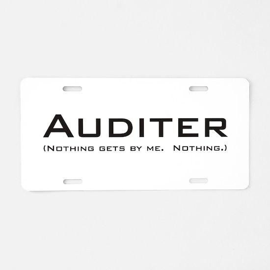 Auditer Aluminum License Plate