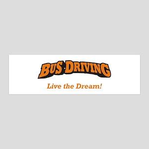 Bus Driving / LTD 42x14 Wall Peel