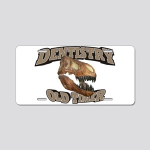 Dentistry Old Timer Aluminum License Plate