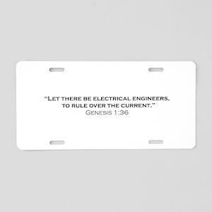 EE / Genesis Aluminum License Plate