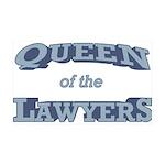 Queen Lawyer 38.5 x 24.5 Wall Peel