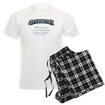 Optometry / Perish Men's Light Pajamas