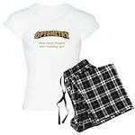 Optometry / Fingers Women's Light Pajamas