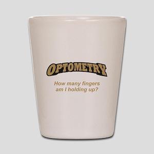 Optometry / Fingers Shot Glass