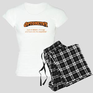 Optometry / Machine Women's Light Pajamas