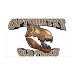 Optometry Old Timer 38.5 x 24.5 Wall Peel