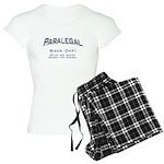 Paralegal / Back Off Women's Light Pajamas