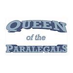 Queen Paralegal 38.5 x 24.5 Wall Peel
