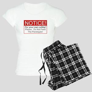 Notice / Paralegals Women's Light Pajamas