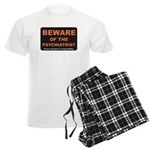 Beware / Psychiatrist Men's Light Pajamas