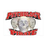 Psychology Pirate 38.5 x 24.5 Wall Peel