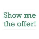 Show me the Offer 38.5 x 24.5 Wall Peel