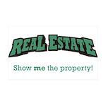 Real Estate / Property 38.5 x 24.5 Wall Peel