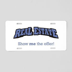 Real Estate / Offer Aluminum License Plate