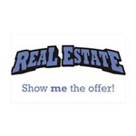 Real Estate / Offer 38.5 x 24.5 Wall Peel