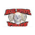 Real Estate Pirate 38.5 x 24.5 Wall Peel
