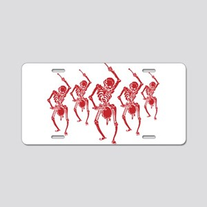 Death March Aluminum License Plate