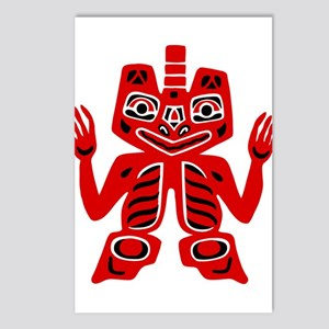 Haida Indian Design Postcards (Package of 8)