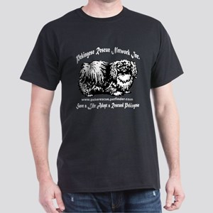 PRNI Pekingese Rescue Dark T-Shirt