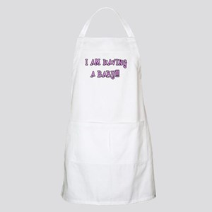 I am having a baby!!! BBQ Apron