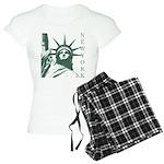 New York Souvenir Women's Light Pajamas