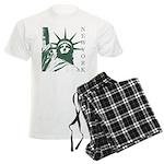 New York Souvenir Men's Light Pajamas
