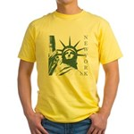 New York Souvenir Yellow T-Shirt