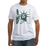 New York Souvenir Fitted T-Shirt