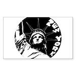 New York Souvenir Sticker (Rectangle 50 pk)