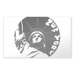 New York Souvenir Sticker (Rectangle 10 pk)