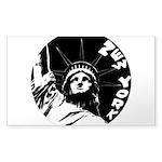 New York Souvenir Sticker (Rectangle 10 pk)